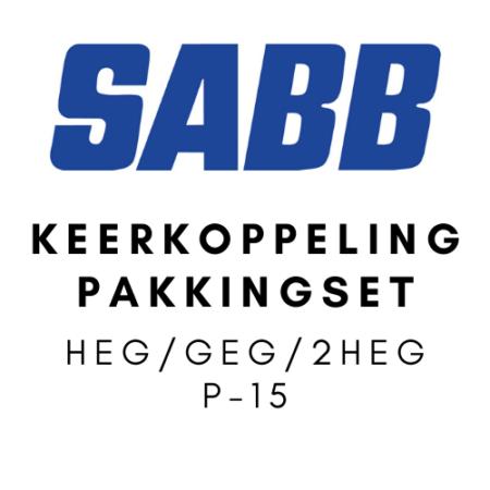 SABB Keerkoppeling pakkingset HEG-GEG-2HEG P15