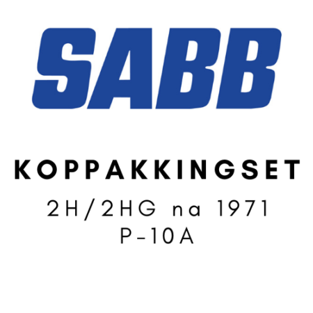 SABB Koppakkingset 2H-2HG na 1971 P-10A