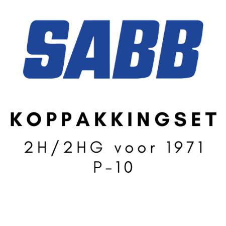 SABB Koppakkingset 2H-2HG voor 1971 P-10