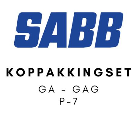 SABB Koppakkingset GA - GAG P-7